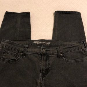Old Navy Sweetheart Black Skinny Jeans